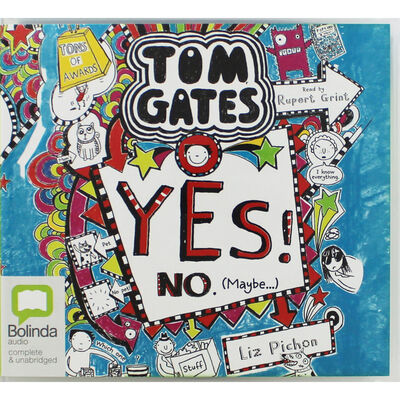 Tom Gates Yes No Maybe: MP3 CD image number 1