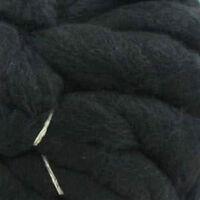 Loopy Lou Super Chunky Black Yarn - 250g