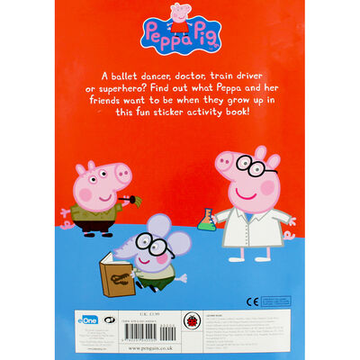 Peppa Pig: When I Grow Up Sticker Activity Book image number 3