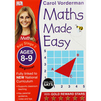 Maths Made Easy: Ages 8-9