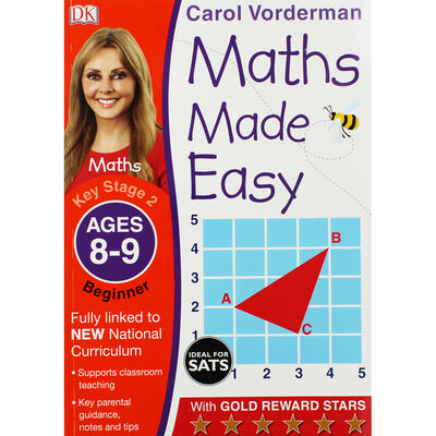 Maths Made Easy: Ages 8-9 image number 1