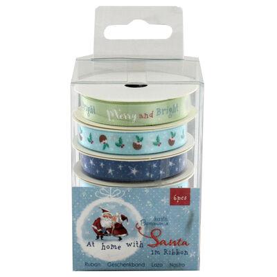 At Home with Santa 1m Ribbons - 6 Pack image number 2