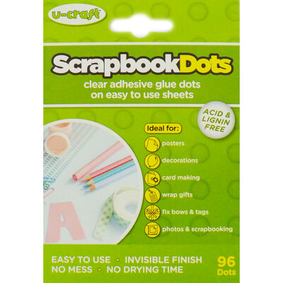 Scrapbook Adhesive Dots | The Works