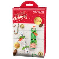 Make Your Own Mini Christmas Crackers: Elf & Polka Dot