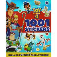Toy Story 4: 1001 Stickers