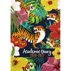 A5 Tiger Brights Week to View 2020-21 Academic Diary image number 1