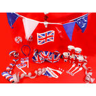 3 Union Jack 4m Paper Streamers image number 2