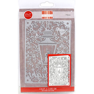 Merry Bright Craft A Card Metal Cutting Die image number 1