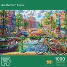 Secret Temple, Blooming Paris & Amsterdam Canal 1000 Piece Jigsaw Puzzle Bundle image number 4