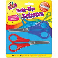 Kids Safe Tip Scissors - 2 Pack