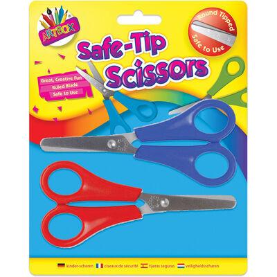 Kids Safe Tip Scissors - 2 Pack image number 1