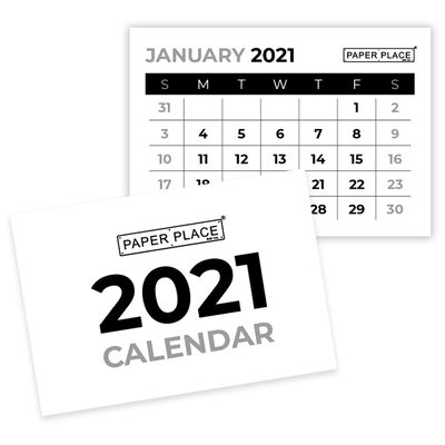 Calendar Tabs 2021: Pack of 4 image number 2
