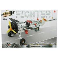 Metal Aeroplane Model Kit: 135 Pieces