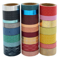 Washi Tape Set: Pack of 24