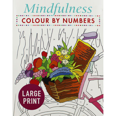 Mindfulness: Colour By Number image number 1