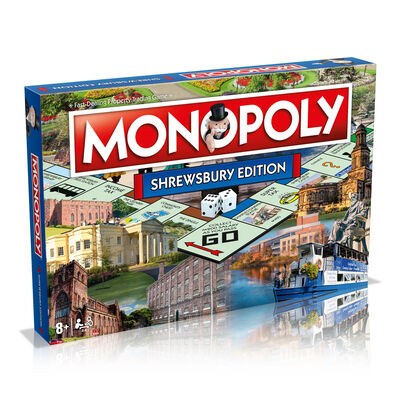 Shrewsbury Monopoly Board Game image number 1