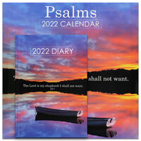 Psalms 2022 Square Calendar and Diary Set