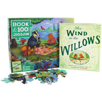 The Wind in the Willows 100 Piece Jigsaw Puzzle and Book Set