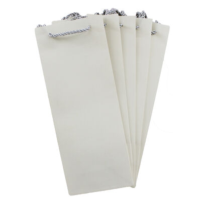 Dovecraft Essentials White Bottle Bags - 5 Pack image number 2