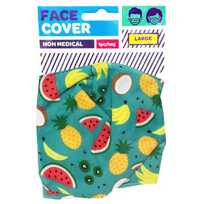 Tropical Reusable Face Covering image number 1