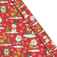 Christmas Gift Wrap 5m: Assorted Animals