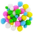 Easter Pom Poms - 200 Pack image number 2