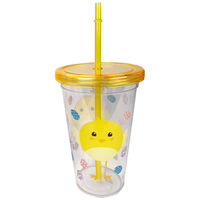 Easter Beaker with Straw: Assorted
