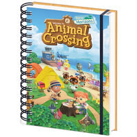 A5 Animal Crossing New Horizons 3D Notebook