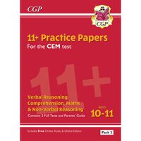 11+ CEM Practice Papers: Ages 10-11