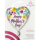 18 Inch Mother's Day Heart Helium Balloon image number 2