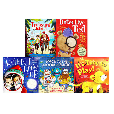 Pirate Adventures: 10 Kids Picture Books Bundle image number 3