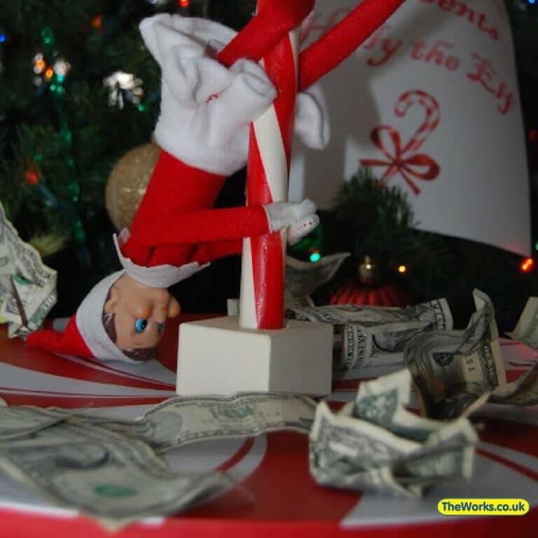 elf earning a living
