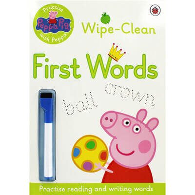 peppa pig first words