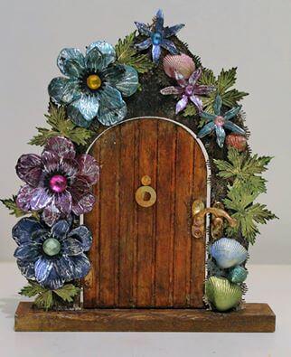 ethereal magic fairy door