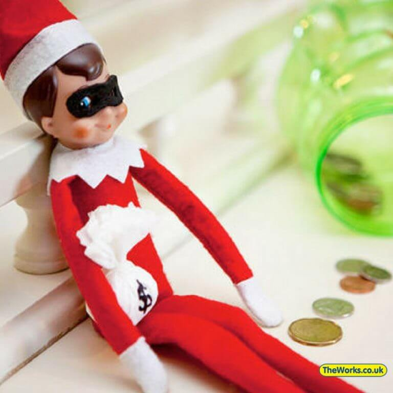 elf on the shelf gone bad