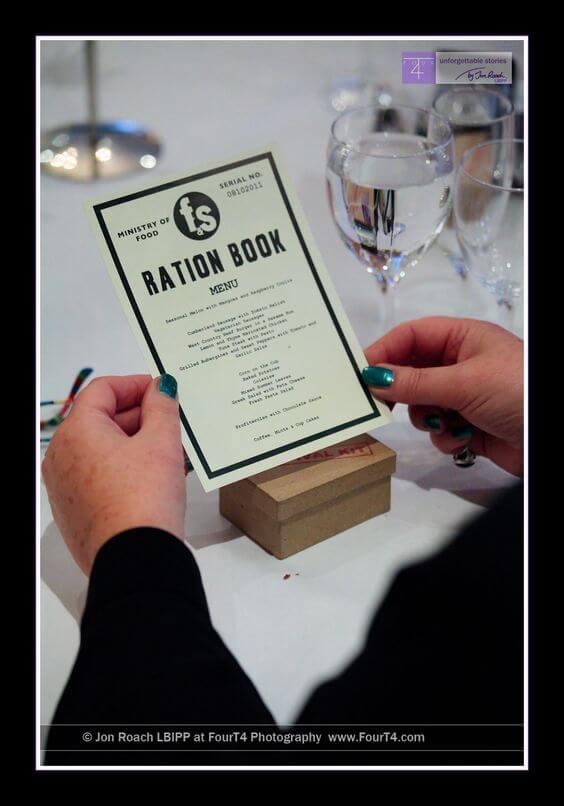 ration book menu
