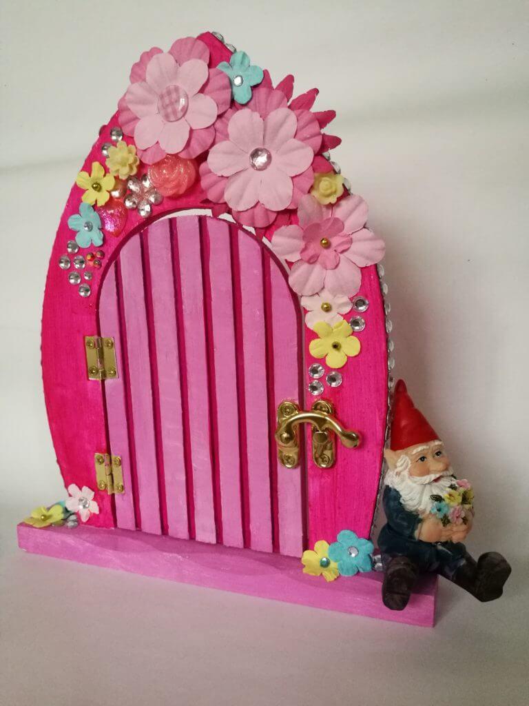 floral fairy door 2