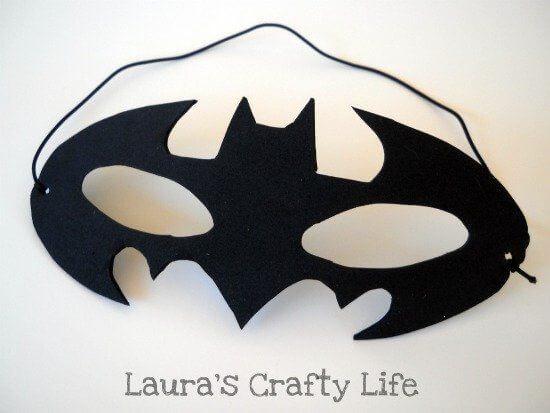batman mask party bags