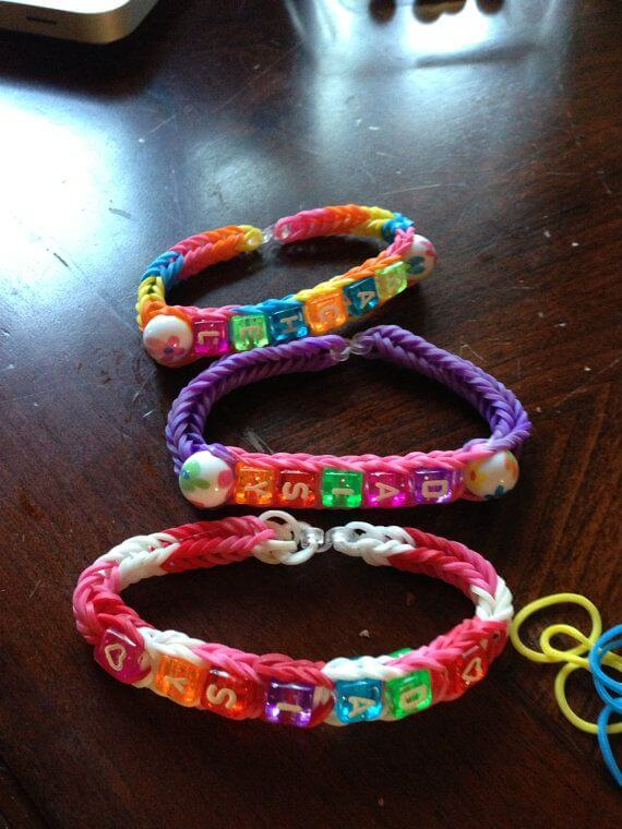 loom band party bags