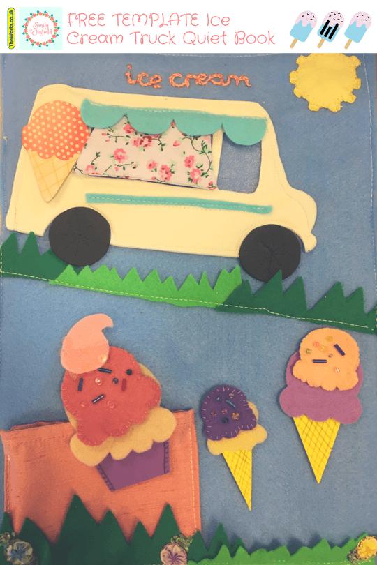 ice cream truck free template