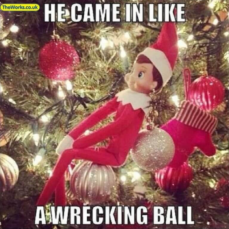 elf wrecking ball