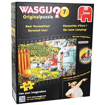 Wasgij Bear Necessities Jigsaw Puzzle