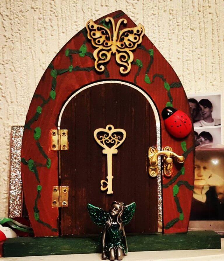 magic ladybird fairy door