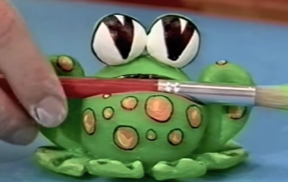 art attack frog pencil holder