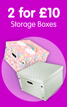 2 for £10 Storage Boxes