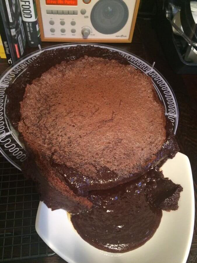 melting lava cake