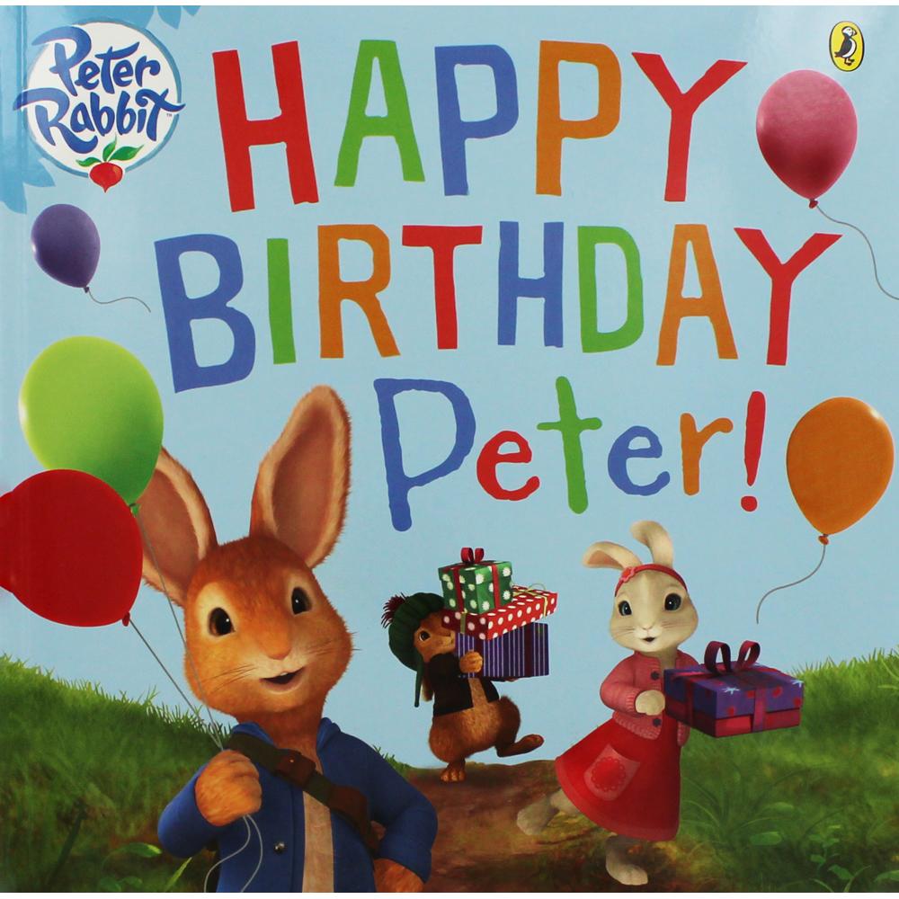 'Peter Rabbit: Happy Birthday Peter!