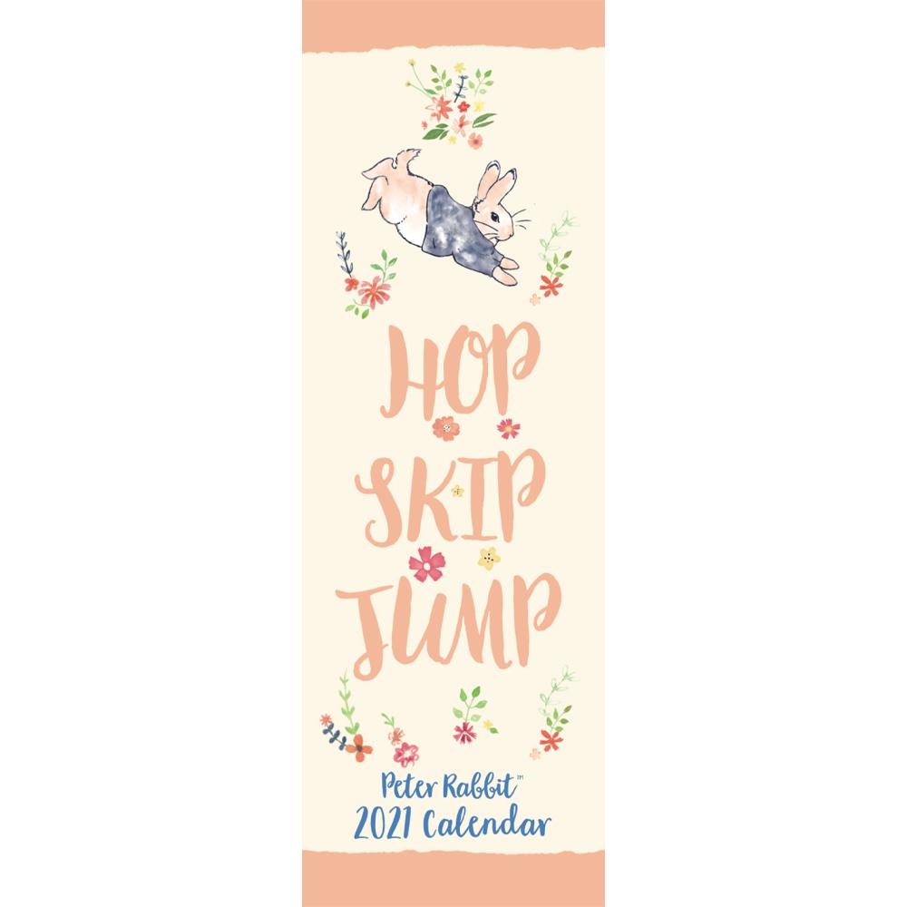 '2021 Slim Calendar: Peter Rabbit