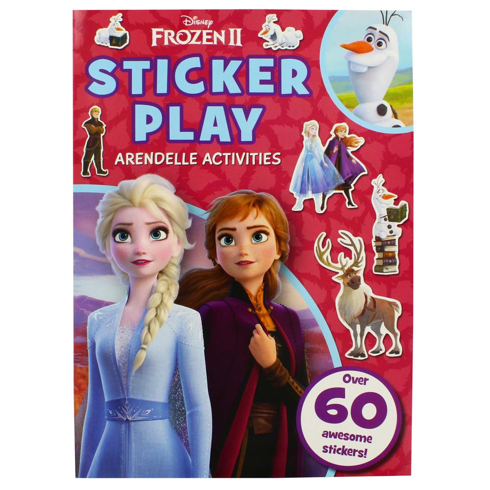 'Disney Frozen 2 Sticker Play Arendell Activities