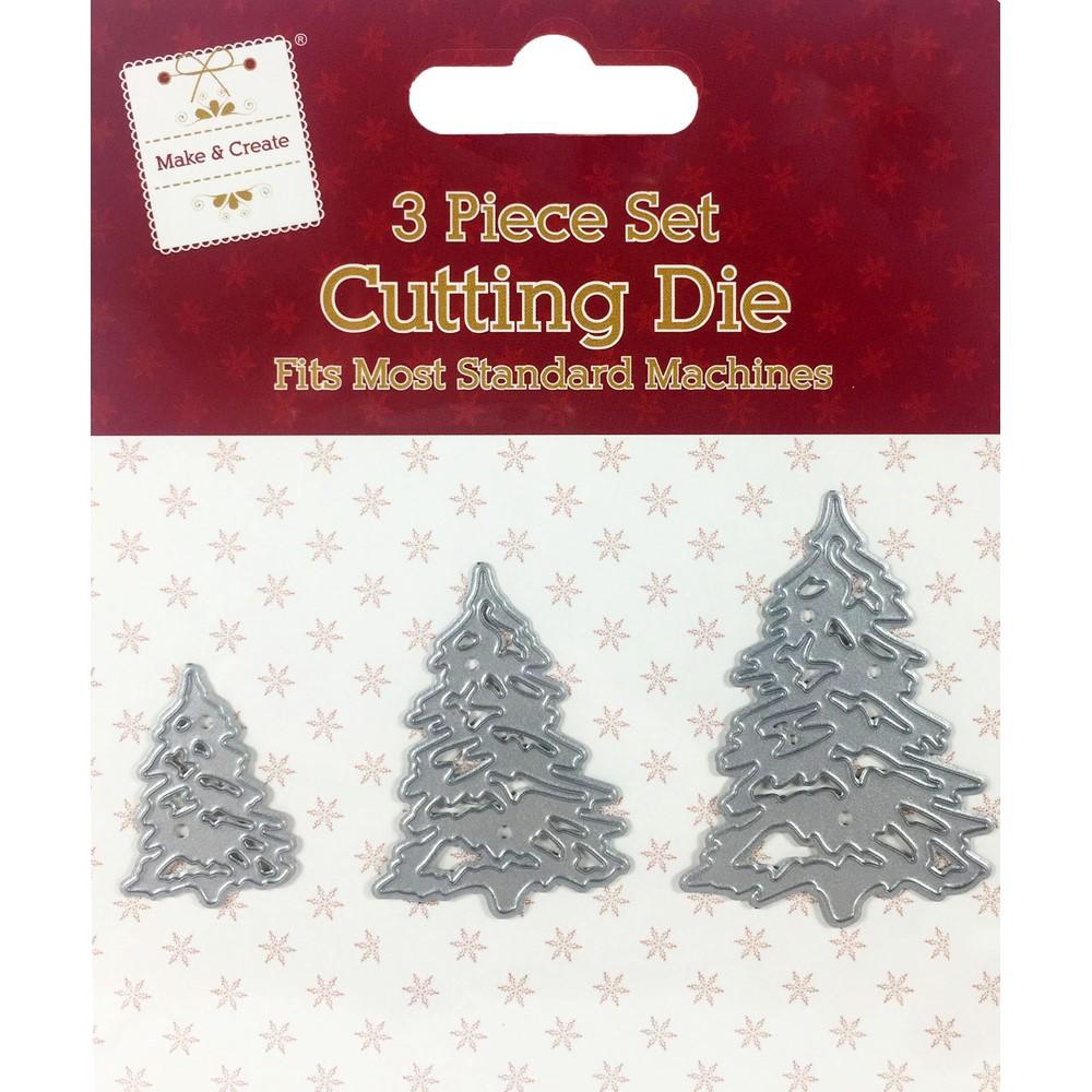 Christmas Trees Metal Die Set